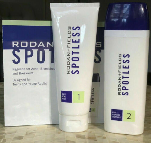 Rodan + and Fields SPOTLESS Teen & Young Adult Acne Regimen exp 10/20 or later