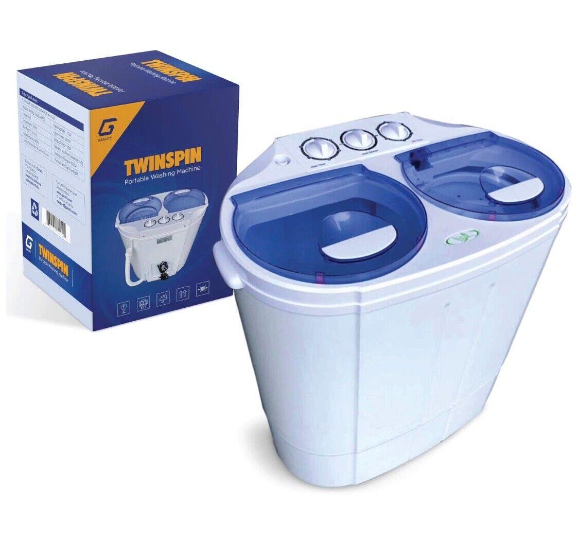 NEW Portable Mini Wash Machine Compact Twin Tub 13lbs Top Lo