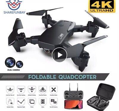 4K Drone Quadcopter - Black, (YUNQ4KUS)