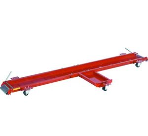 Red Standard Motorcycle Dolly Stand