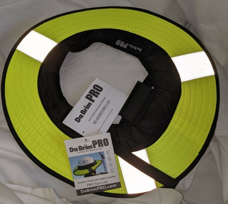 Da Brim PRO Helmet Visor for Cycling or Working Helmet Visor NWT