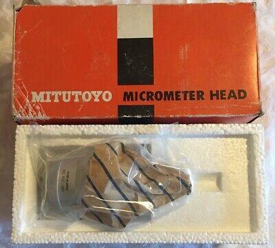 Mitutoyo 152-391 Micrometer Head For Y Axis 0-1 .0001 Plain Bidirectional Grad