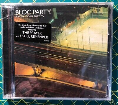 BLOC PARTY A weekend in the City CD w/ The Prayer I still remember  NEW USA