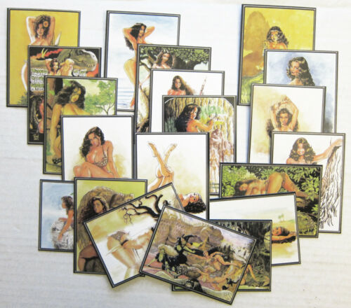CAVEWOMAN NUMBERED CARD SET #2 Reproducing BUDD ROOT Artwork in a 20 CARD SET