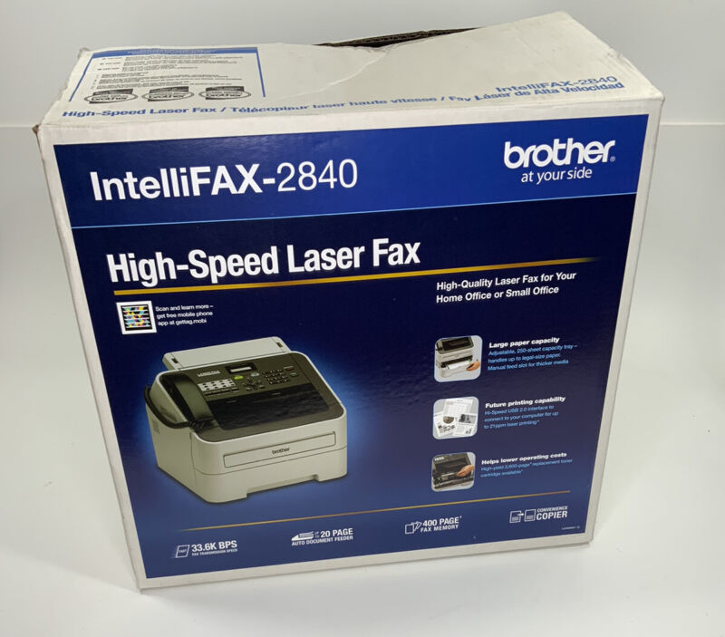 Brother FAX-2840 Laser Fax/Copier/Printer