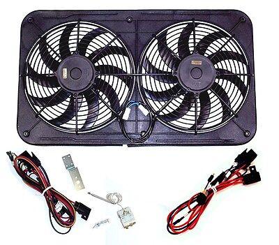 MaraDyne MJS26KC Jetstreme II Dual Electric Fan Kit w/ Wiring Harness & Switch