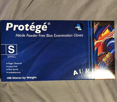 Aurelia Protege Small Blue Powder Free Latex Free Surgical Gloves 100ct