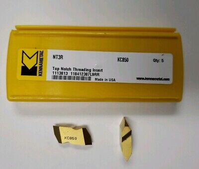 Kennametal Nt3r Grade Kc850 Mfg 1113813 Lot Of 10 Inserts