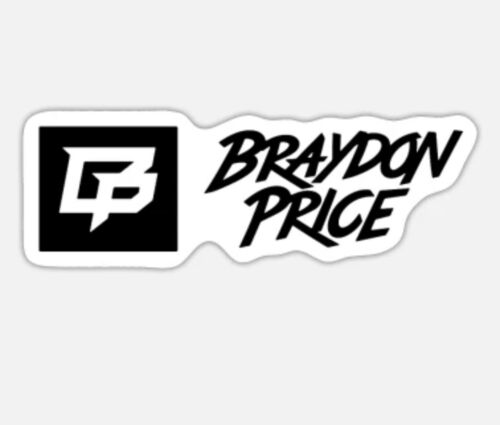Braydon Price Logo Decal Sticker 6  - $4.50