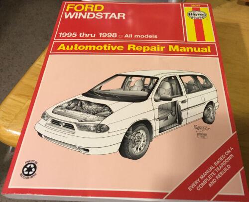 Haynes Manual Ford Windstar 1995-1998 All Models
