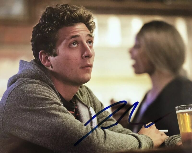 JEREMY ALLEN WHITE SIGNED 8x10 PHOTO SHAMELESS ACTOR AUTOGRAPHED LIP GALLAGHER