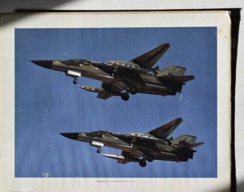 US Marines General Dynamics FB 111 Airplane Color Poster16 X 20 in.  #18
