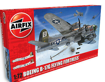 Brand New Airfix 1:72nd Scale Boeing B-17G Flying Fortress Model Kit.