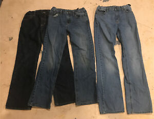 Three pairs of Old Navy Boys Jeans (sizes 12-14)