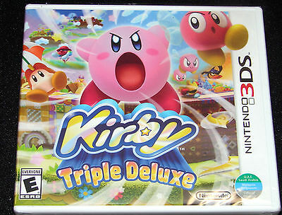 Kirby: Triple Deluxe (Nintendo 3DS, 2014) BRAND NEW SEALED