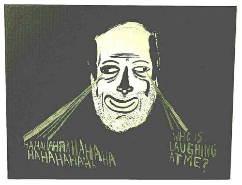Chris Johanson: Set of Eight lithographs on Heavy cardstock  2001,   Nice !