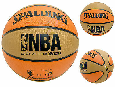 """Spalding NBA Cross Traxxion Outdoor performance Basketball Youth Size 5 (27.5"""")"""