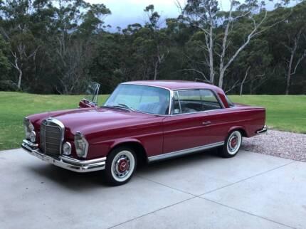 1963 Mercedes-Benz 220se W111 Coupe Seven Hills Blacktown Area Preview