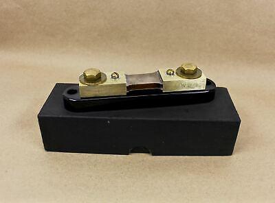 Simpson Electric Co. 06713 Shunt 100a 50mv 100 Amp 50 Mv Excellent Condition