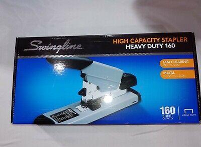 Swingline 39005 High Capacity Heavy-duty Stapler 160-sheet Capacity Blkgrey