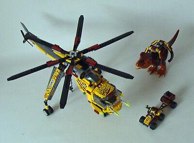 Lego® Dino 5886 - T-Rex Transport Helikopter 7-12 Jahren - Gebraucht gebraucht kaufen  Frankfurt