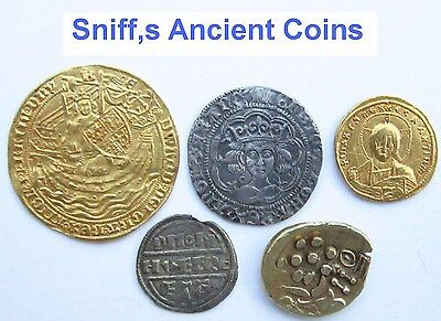 Sniffs Ancient Coins