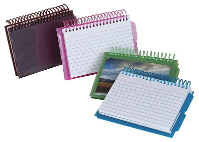 Oxford Poly View Ruled Spiral Index Cards 3 X 5 Inches Pack Of 50