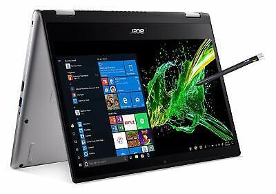 "Acer Spin 3 - 14"" Laptop Intel Core i7-8565U 1.80 GHz 16GB Ram 512GB SSD Win10H"