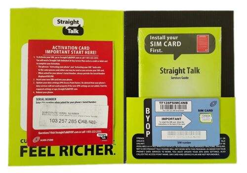 Straight Talk iPhone 5 Nano SIM Card for AT&T