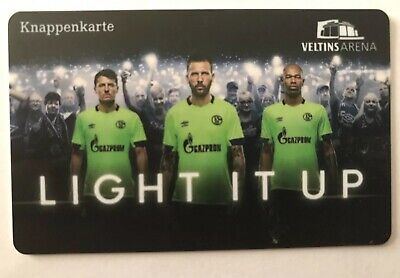 "Knappenkarte Schalke 04 ""Light it up Grün"" ()"