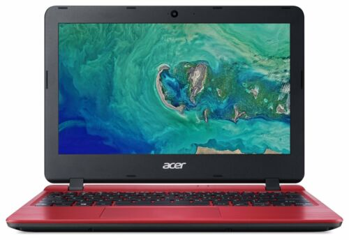 Laptop Windows - Acer Aspire 1 11 Inch Celeron N4000 1.1GHz  2GB 32GB eMMC Windows 10 Laptop Red