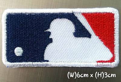 MLB 6cmx3cm Baseball Sport Patches Logo Embroidery Iron,Sewing on Clothes