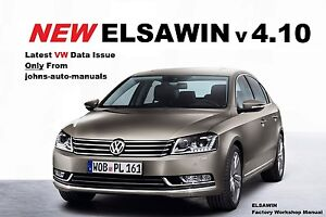 ElsaWin Workshop Repair Manual  VW Audi Seat Skoda Multi VAG Brand set v 4.10