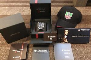 BRAND NEW UNWORN TAG HEUER CARRERA SENNA LIMITED EDITION Docklands Melbourne City Preview