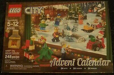 Lego CITY Town Holiday Advent Christmas Calendar #60155 **RETIRED**