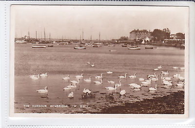 BAY SERIES POSTCARD THE HARBOUR, BEMBRIDGE, ISLE OF WIGHT (SPITHEAD HOTEL)