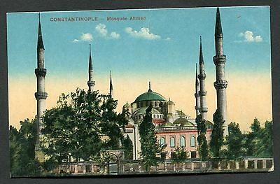 C1920's View of the Sultan Ahmed Mosque, Istanbul