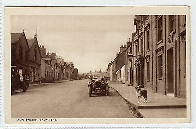 MAIN STREET, DRUMMORE: Wigtownshire postcard (C3739).