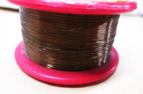 "Sigmund Cohn Wire .0005"" Enameled Copper Magnetic Coil Transformer Winding 800+'"