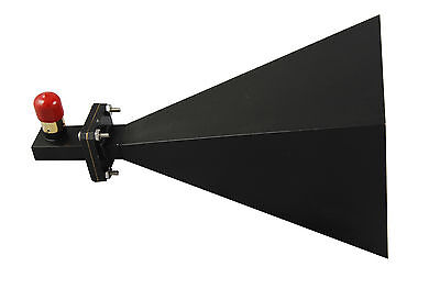 8.2ghz To12.4ghz Wr-90 20db Gain Horn Antenna With N-f Connector