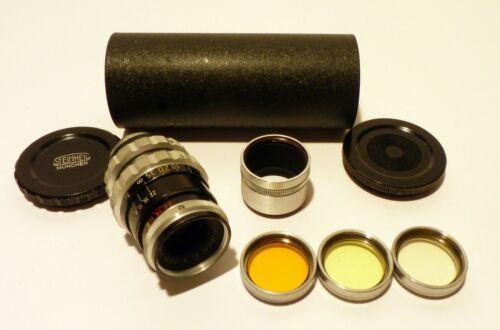 Steinheil Munchen Cassar f2.8 36mm VL Camera Lens D Mount Bolex Germany