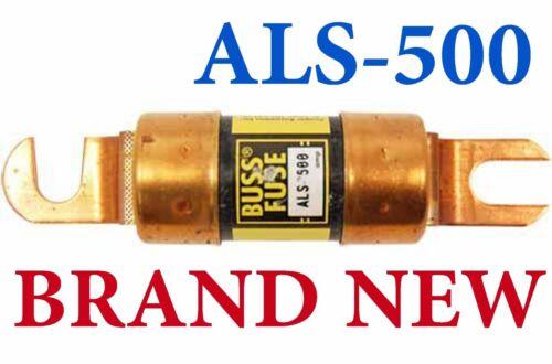 NEW BUSS ALS-500 500A FUSE ALS500