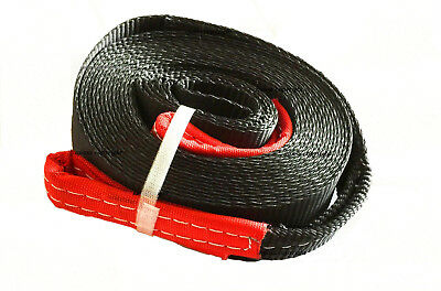 """2"""" 9000lbs Tow Strap 30 ft winch sling off-road ATV UTV snatch vehicle recovery"""