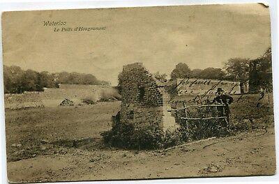CPA - Carte Postale - Belgique - Waterloo - Le Puit d'Hougoumont - 1913 ( SV5769