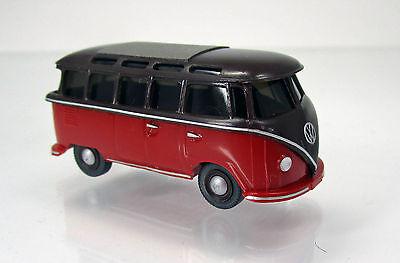 Wiking 031704 Volkswagen VW T1 Sambabus -  braun/rot online kaufen