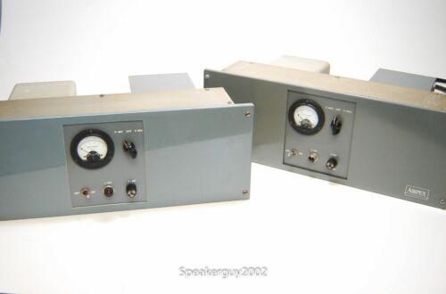 Pair of Vintage Ampex 6550 Mono Tube Amplifiers / KT