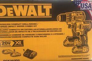 Neuf - Impact et drill dewalt 20v XR