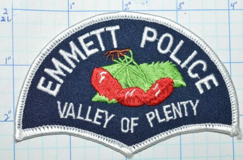 IDAHO, EMMETT POLICE DEPT PATCH