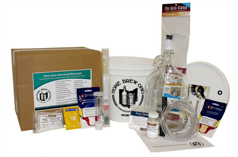 Home Brew Ohio Mead Making Kit