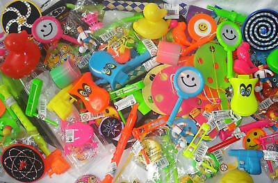 NEW LUCKY DIP TOYS 12, 24, 48 or 100 ITEMS FOR PINATA PARTY LOOT BAGS BRAN - Items For Party Bags